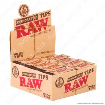 Raw Filtri di Carta in Fibre Naturali - Scatola da 50 Blocchetti