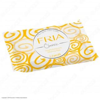 Fria Classic Salviette Rinfrescanti al Limone - 100 Salviettine