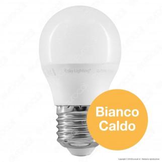 SkyLighting Lampadina LED E27 6W MiniGlobo G45 - mod. G45PA-2706C / G45PA-2706D / G45PA-2706F