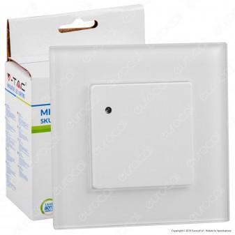 V-Tac VT-8084 Sensore di Movimento a Microonde Colore Bianco - SKU 15021