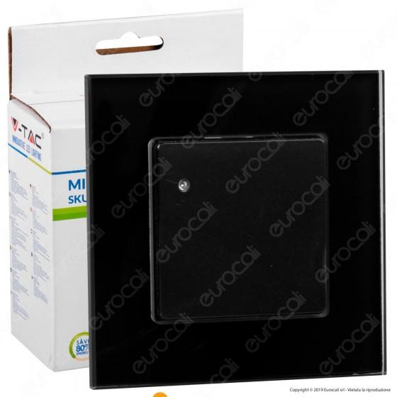 V-Tac VT-8084 Sensore di Movimento a Microonde Colore Nero - SKU 15031