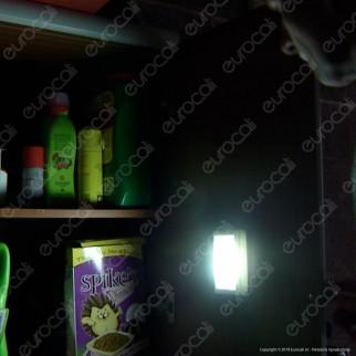 Intergross Switch Light Luce LED a Batteria con Interruttore a Levetta