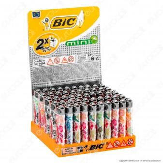 Bic Mini J25 Piccolo Fantasia Summer - Box da 50 Accendini