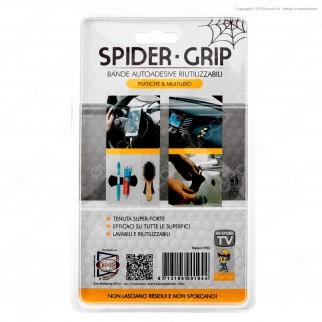 Intergross Spider Grip Bande Autoadesive Multiuso Colore Nero - Confezione da 2 Bande
