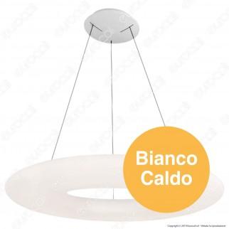 V-Tac VT-7910 Lampadario LED a Sospensione 105W Bianca Forma Circolare Dimmerabile - SKU 40101