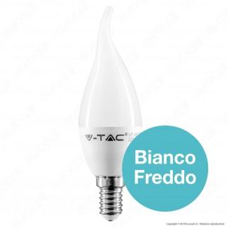 V-Tac VT-1818TP Lampadina LED E14 4W Candela Fiamma - SKU 4164 / 4156 / 4354