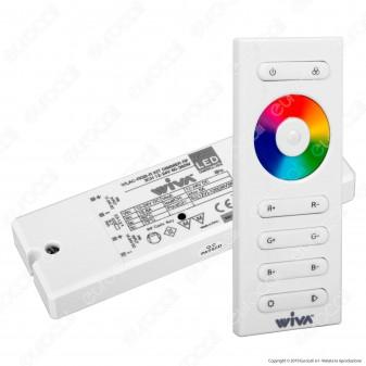 Wiva KIT RGB Centralina e Telecomando per strisce LED 12-24V - mod. 62300000
