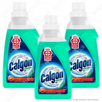 Kit Risparmio Calgon Hygiene Plus Gel Anti-Calcare Igienizzante Lavatrice - 3 Confezioni da 1500ml cad.