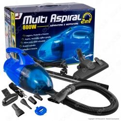 Intergross Multi Aspiral 2in1 Aspiratore e Soffiatore da 800W con 12 Accessori