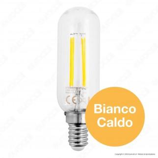 SkyLighting Lampadina LED E14 6W Tubolare a Filamento