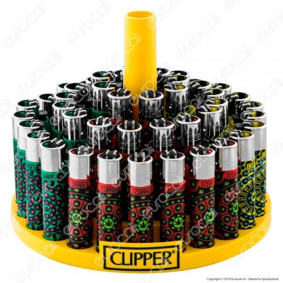Clipper Large Fantasia Weedy 2- Box da 48 Accendini