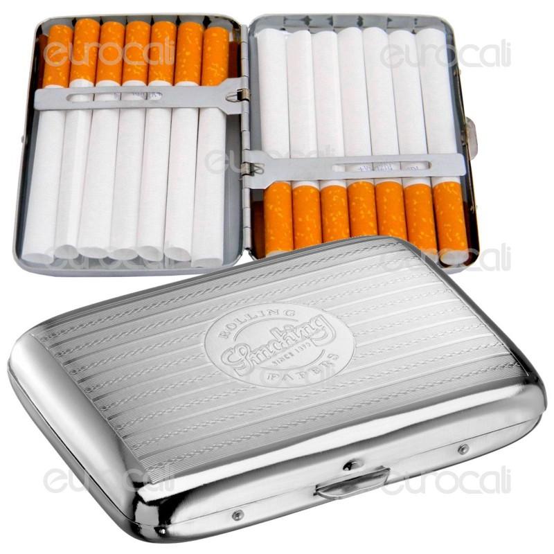 Smoking Astuccio Porta Sigarette in Metallo