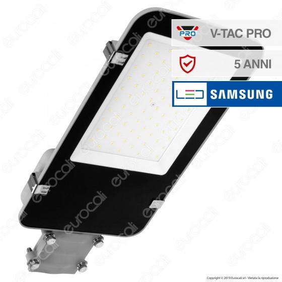 V-Tac PRO VT-50ST Lampada Stradale LED 50W Lampione SMD Chip Samsung - SKU 527 / 528