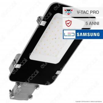 V-Tac PRO VT-30ST Lampada Stradale LED 30W Lampione SMD Chip Samsung - SKU 525