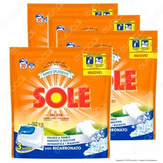 Kit Risparmio Sole Perle Di Pulito GelCaps Detersivo Superconcentrato - 4 Confezioni da 660ml