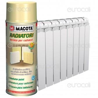Vernice Spray Macota Radiatori - Resistente alle Alte Temperature fino a 150°C