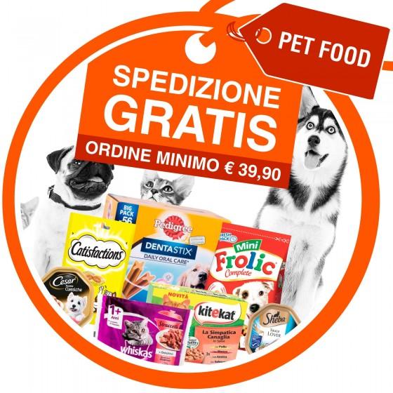 Spedizione Gratuita Acquistando 39,90€ di Prodotti Pet Food