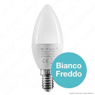 V-Tac VT-2226 Lampadina LED E14 5,5W Candela CRI ≥95 - SKU 7495 / 7496