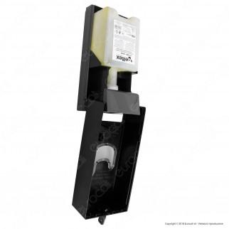 Celtex Megamini Black Dispenser per Sapone Lavamani - Colore Nero