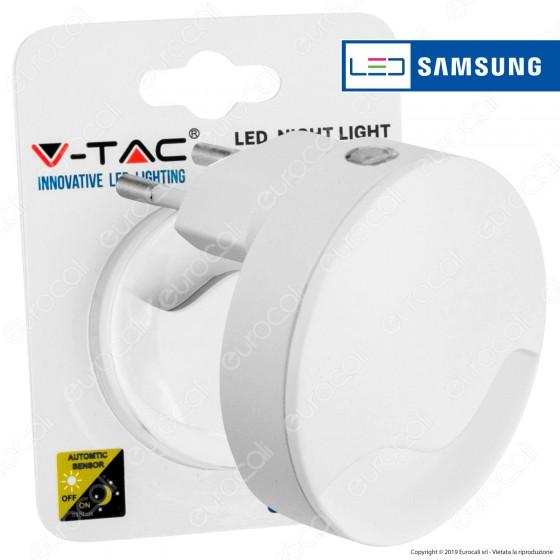 V-Tac VT-83 Punto Luce LED con Sensore Crepuscolare con Chip Samsung - SKU 828 / 829
