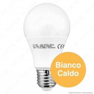 V-Tac VT-2011 Lampadina LED E27 9W Bulb A60 3 Step Dimmerabile - SKU 4447 / 4448 / 4449