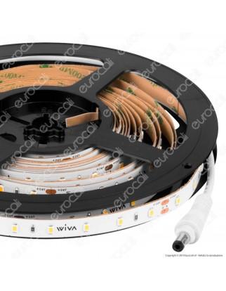 Wiva Striscia LED Monocolore 60 LED/metro 24V - Bobina da 5 metri - mod. 41700105 / 41700106 / 41700107