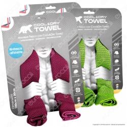 Intergross Cool&Dry Towel Asciugamano in Microfibra con Effetto Rinfrescante