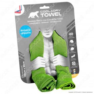 Intergross Cool & Dry Towel Asciugamano in Microfibra con Effetto Rinfrescante