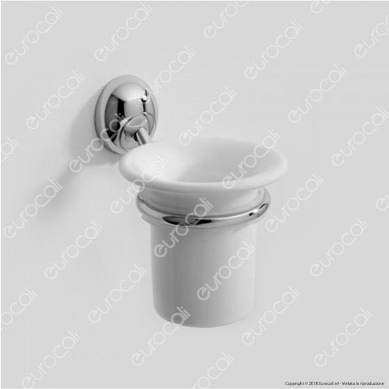 Porta Bicchiere in Metallo Cromato - Linea Rio Eurocali - 1