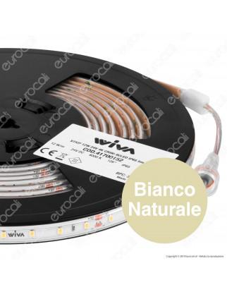 Wiva Striscia LED Impermeabile Monocolore 60 LED/metro CRI 95 - Bobina da 5 metri - mod. 41700152