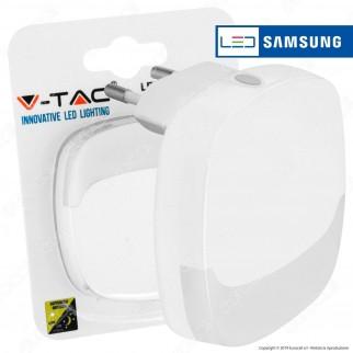 V-Tac VT-83 Punto Luce LED con Sensore Crepuscolare con Chip Samsung - SKU 830 / 831