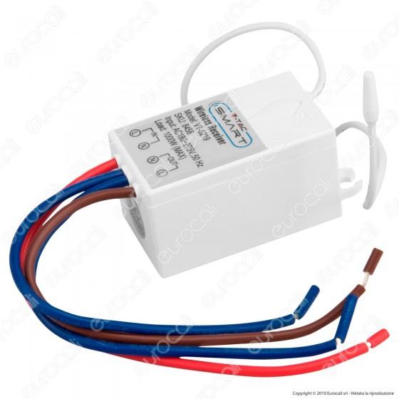 V-Tac VT-5129 Ricevitore Wireless per Interruttori Senza Fili - SKU 8458