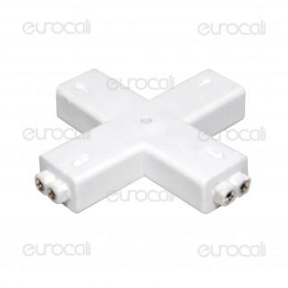Connettore Angolare Consecutivo a X per Strisce LED Monocolore 3528 2 Pin