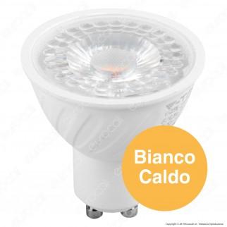 V-Tac VT-2206 Lampadina LED GU10 6W Faretto Spotlight CRI ≥95 - SKU 7497 / 7498 / 7499