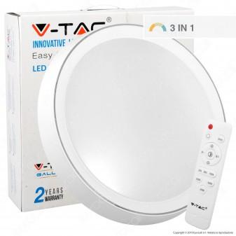 V-Tac VT-8402 Plafoniera LED 40W Forma Circolare con Telecomando - SKU 1476