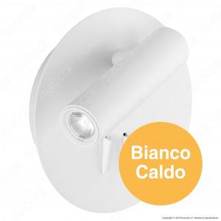 V-Tac PRO VT-2963 Lampada da Muro Wall Light LED CREE 3W + SMD 6W Colore Bianco - SKU 1489