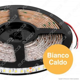 ZNLED Striscia LED 2835 Impermeabile Monocolore 120 LED/metro 24V - Bobina da 5 metri - mod. 62821 / 62822