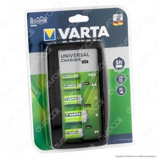 Varta Caricabatterie Universale con Autospegnimento