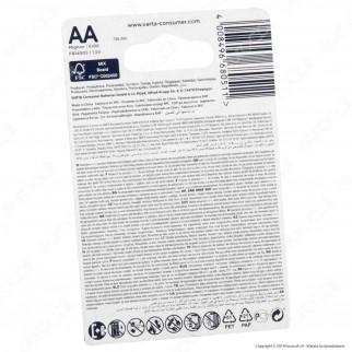 Varta Ultra Lithium Stilo AA - Blister 4 Batterie