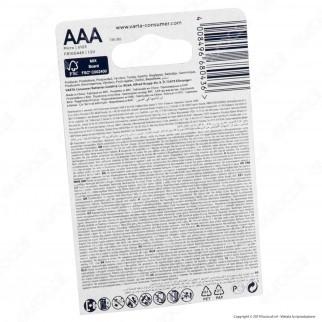 Varta Ultra Lithium Ministilo AAA - Blister 4 Batterie