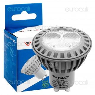 V-Tac VT-1878 Lampadina LED GU10 5W Faretto Spotlight