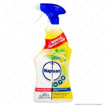 Napisan Spray Igienizzante Bagno Limone e Menta - 750ml