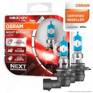 Osram Night Breaker Laser - 2 Lampadine HB3