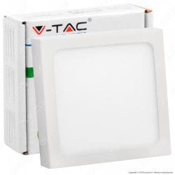 V-Tac VT-605 SQ Pannello LED Quadrato 6W - SKU 4907 / 4908 / 4909