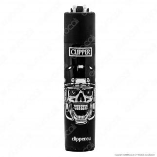 Clipper Micro Fantasia Scary Skulls 2 - Box da 48 Accendini