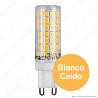 V-Tac VT-2227 Lampadina LED G9 6W Bulb in Ceramica - SKU 2719 / 2720 / 2721