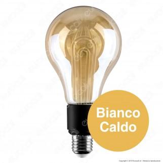 V-Tac VT-2235 Lampadina LED E27 5W Bulb G100 Ambrata - SKU 2748