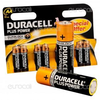 Duracell Plus Power Alcaline Stilo AA - Blister 8 Batterie