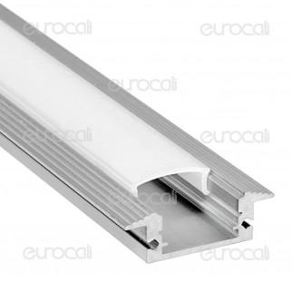 V-Tac Profilo in Alluminio per Strisce LED mod. 9990 - Lunghezza 1 metro - SKU 9990