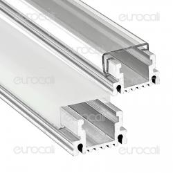 V-Tac Profilo in Alluminio per Strisce LED mod. 9981 - Lunghezza 1 metro - SKU 9981 / 9982